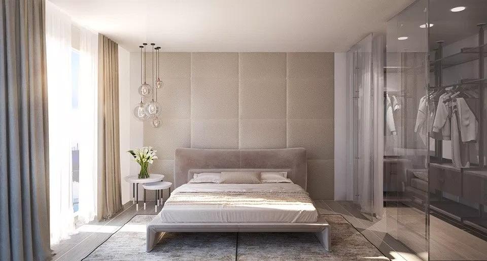 Thiết kế phòng thay đồ trong không gian phòng ngủ