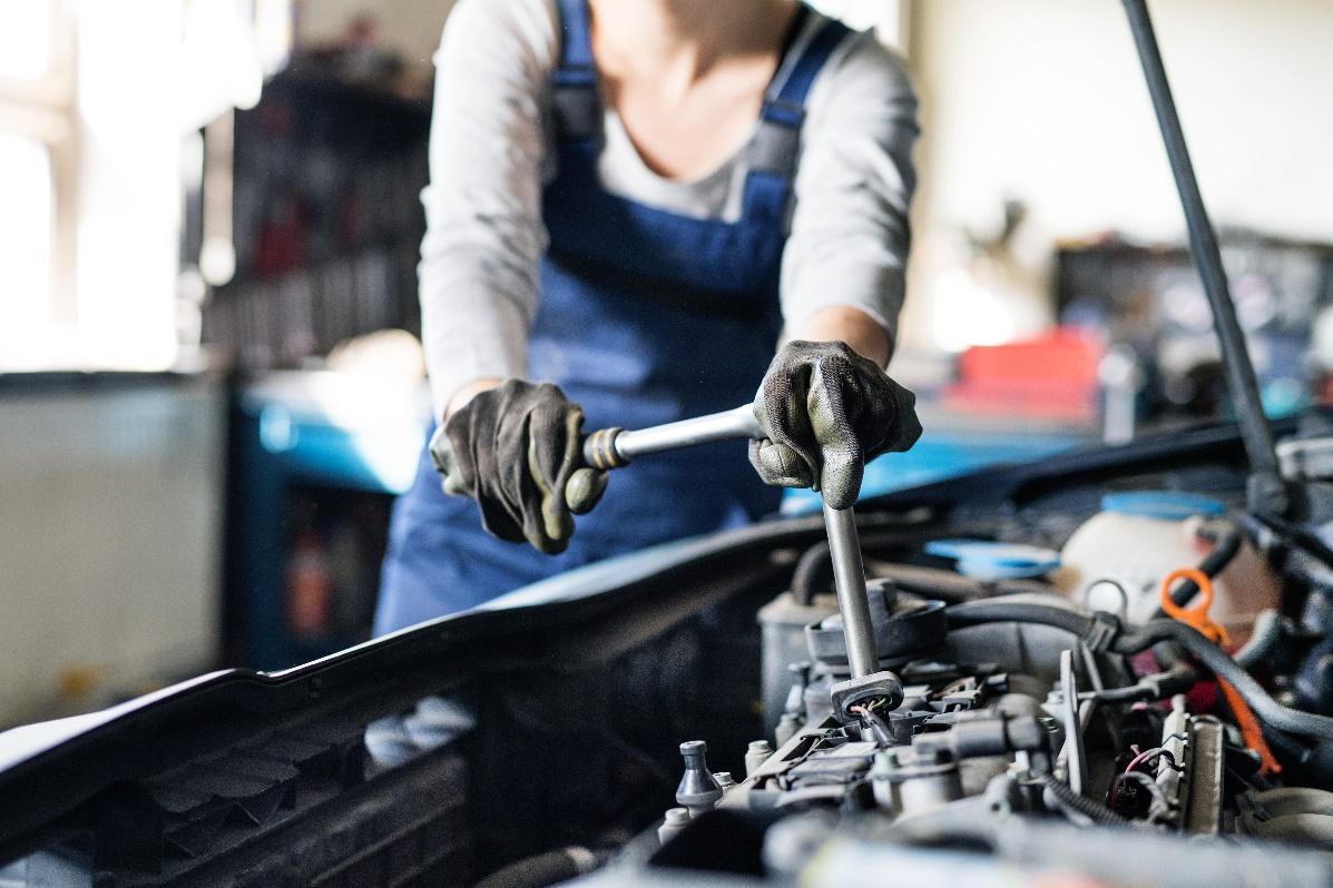 Reparations verktyg för personer