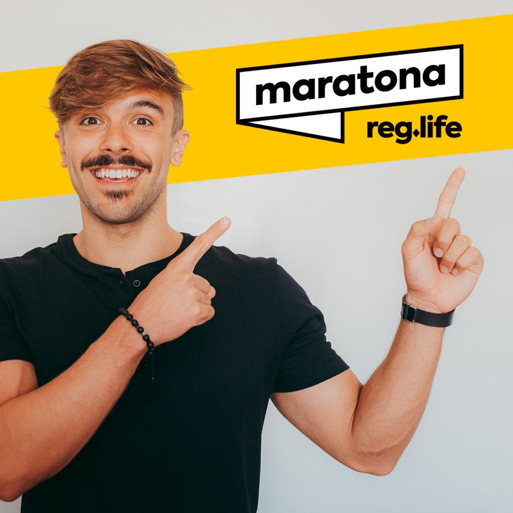 Yuri Martins e a Maratona Reg Life