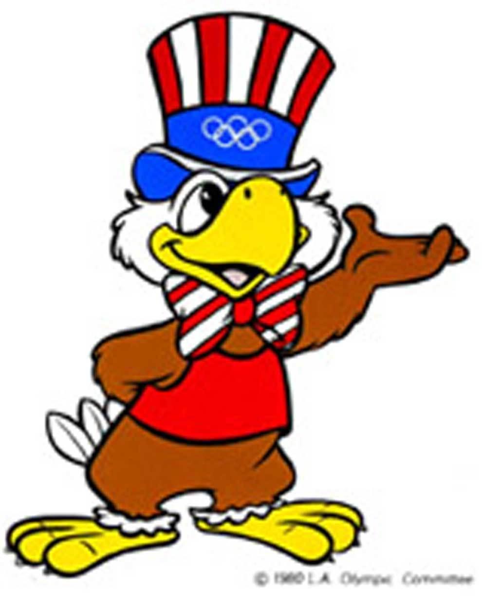 Sam, el áquila mascota de los juegos olímpicos...   MARCA.com