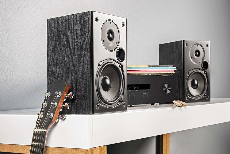Bộ xem phim Amply Denon X550BT + Bộ 5.1 Polk Audio T50 Chất lượng - 4