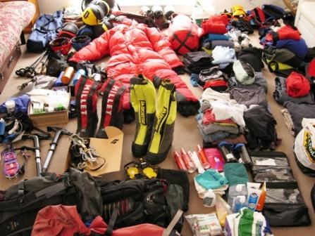 Pic: Your trekking gear example