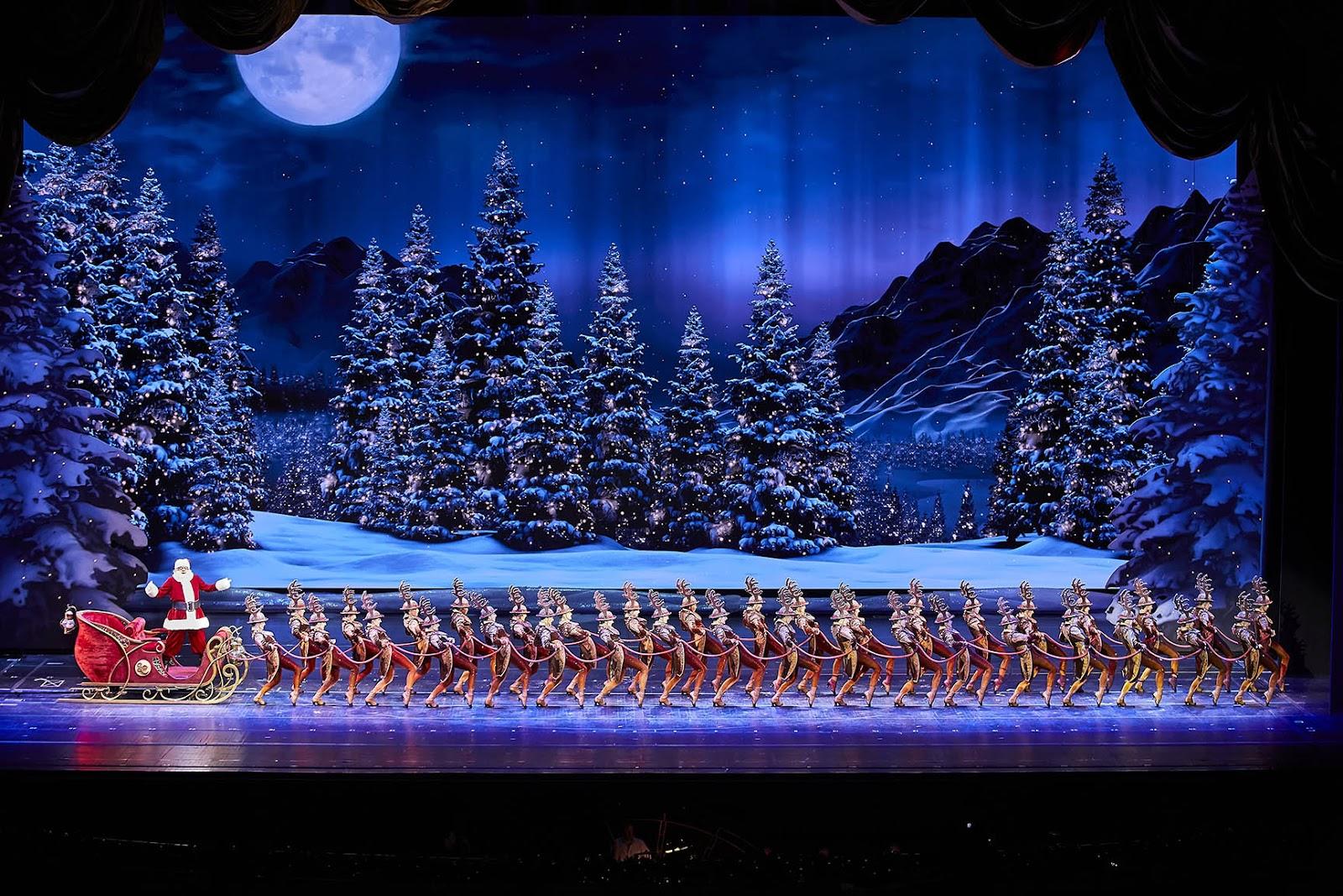 show de natal em Nova York