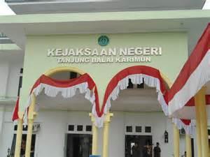 Kantor Kejaksaan Negeri Tanjung Balai Karimun Tempat Jaksa LEO bekerja ...