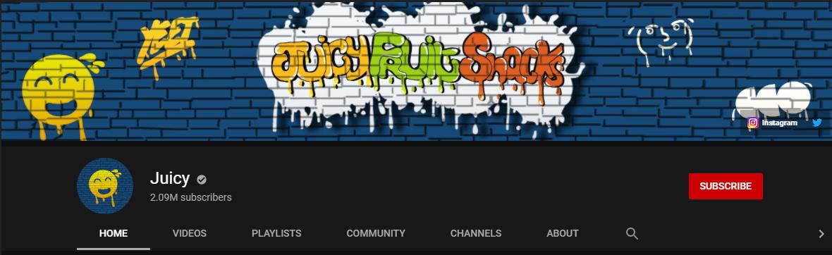 Juicy YouTube Channel