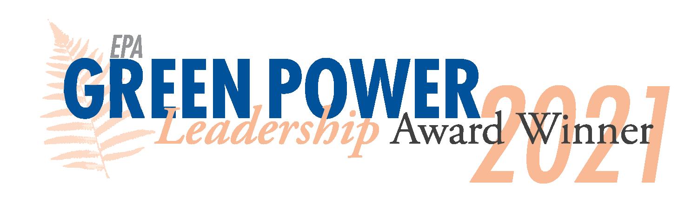 EPA Green Power Leadership Award banner