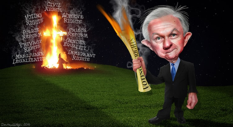 Sessions Stomping on Rights or Upholding Them?