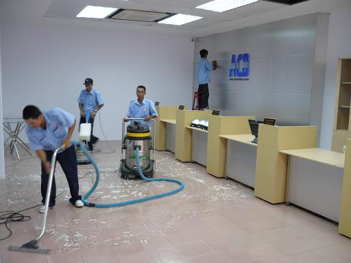 Dịch vụ vệ sinh công nghiệp của công ty luôn làm khách hàng hài lòng