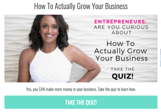 How to actually grow your business quiz cover