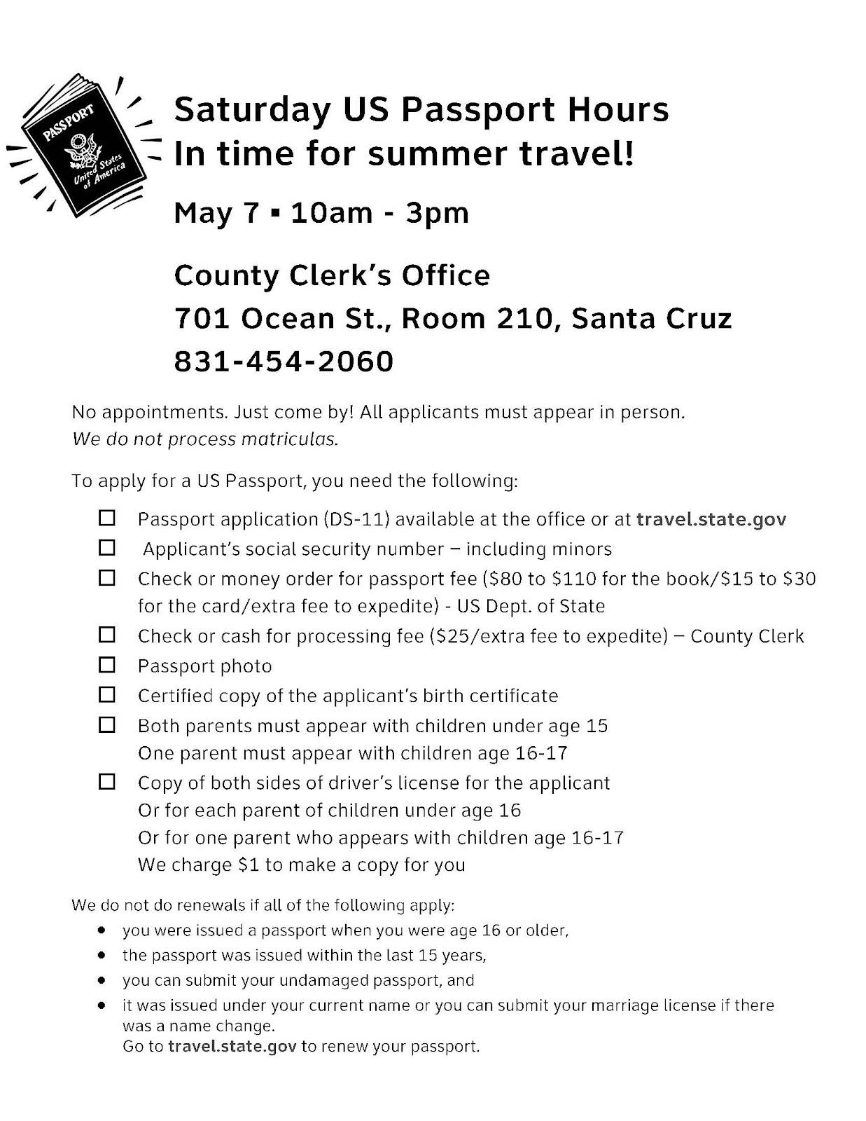 Passport Hours For Schools Mayg