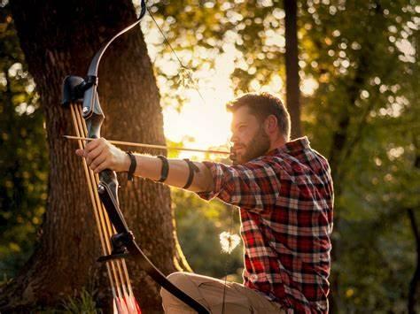 outdoor archery practice