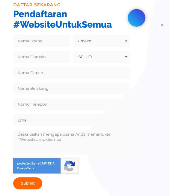 Program #WebsiteUntukSemua Resmi Diluncurkan! Segera Daftar Untuk Mendapatkan Gratis Domain & Hosting!