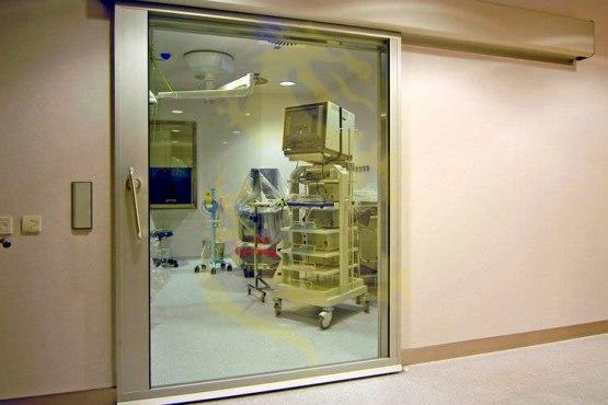 Tường phòng chụp CT