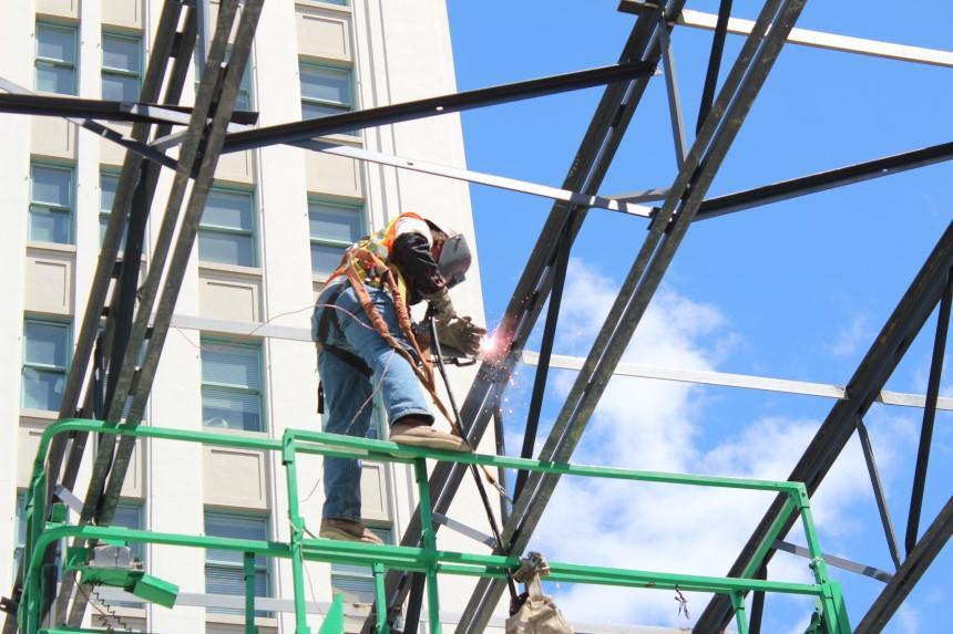 Khung kèo mái tôn tạo sự bền vững cho công trình