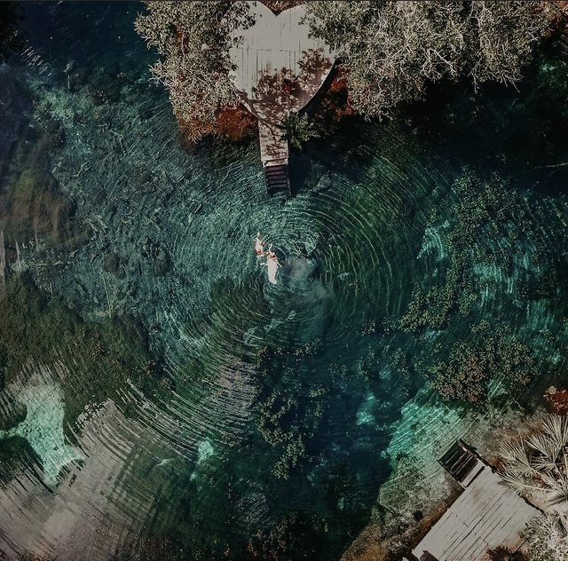 Fotos del Cenote Corazón en Tulum