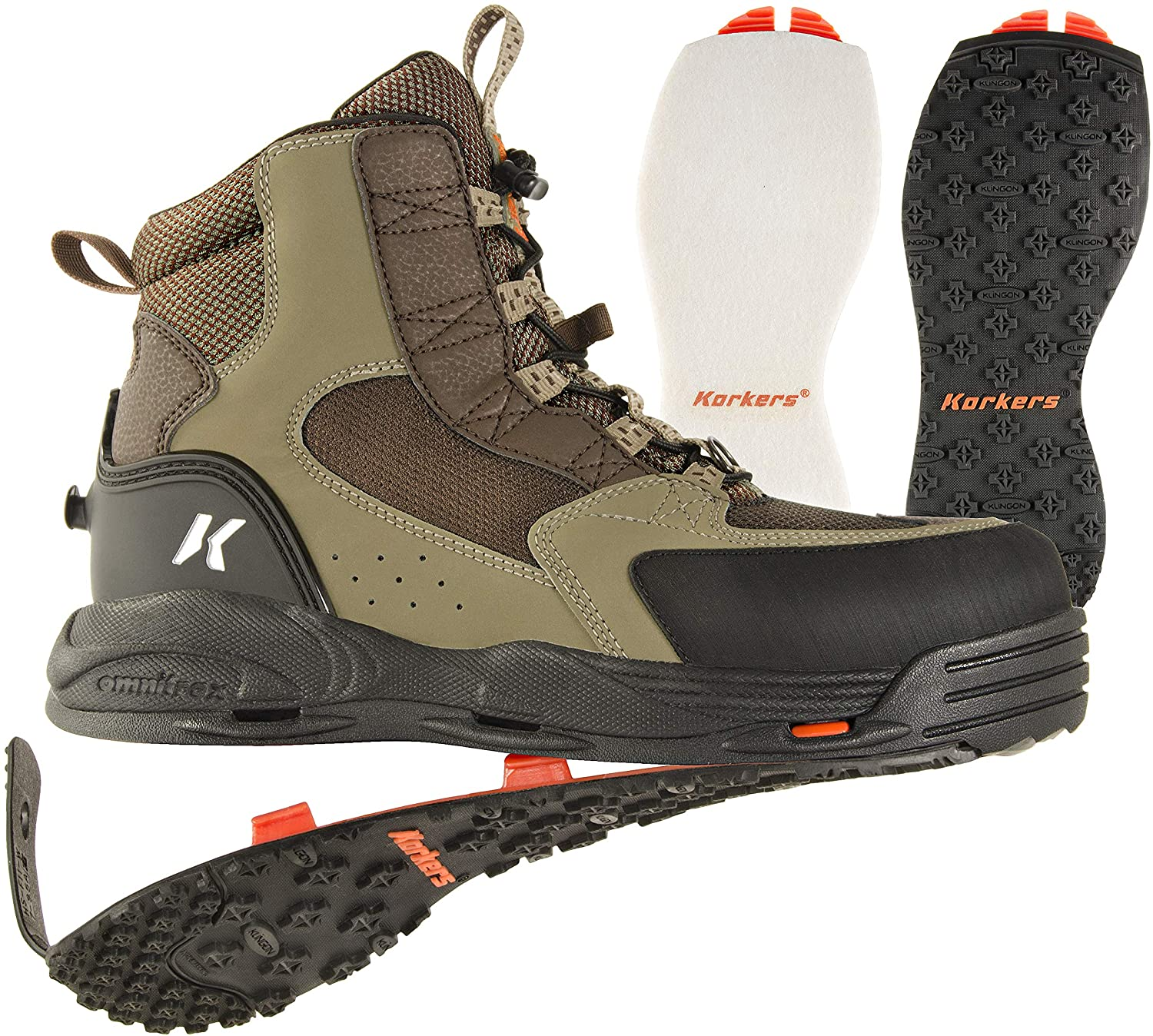 Korkers Lightweight Wading Boots for Fishing