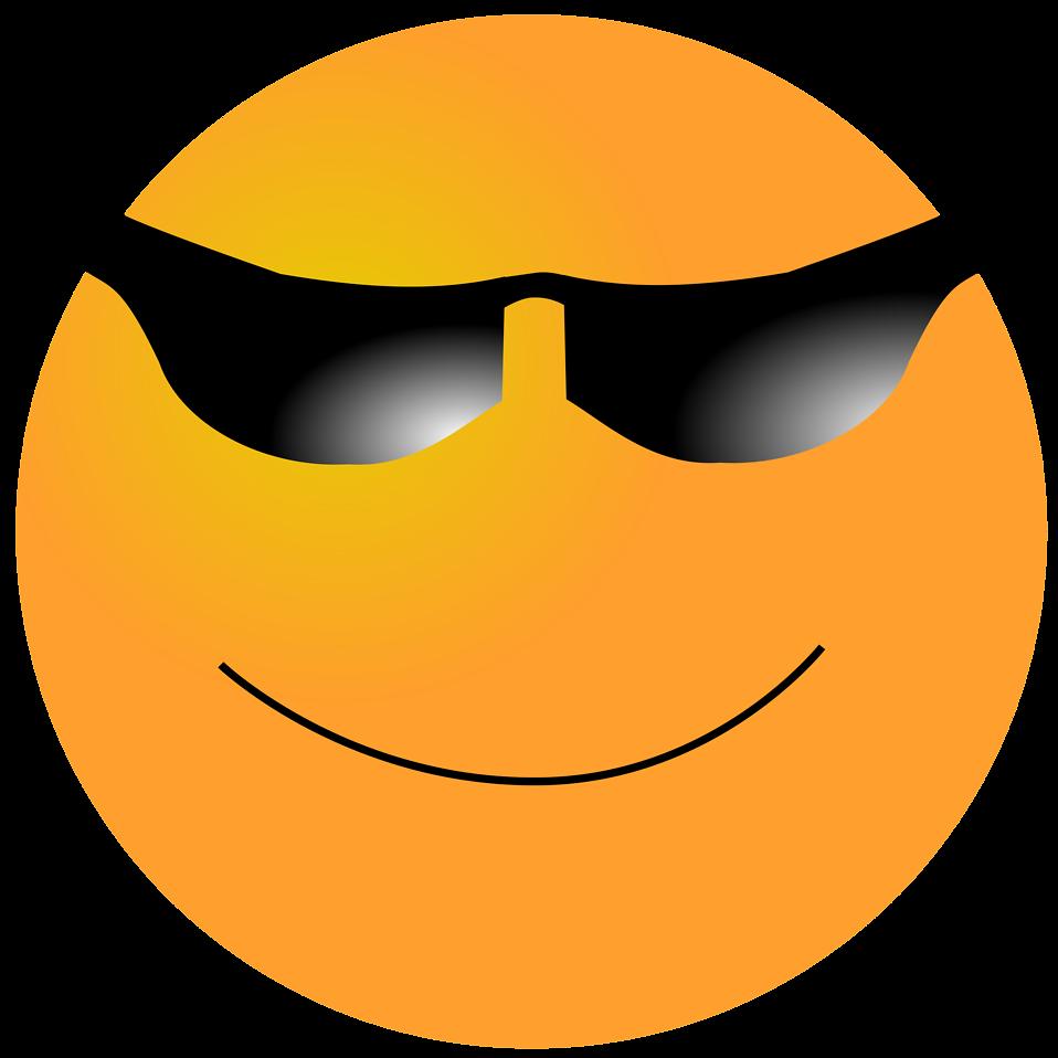 orange smiley face : Free