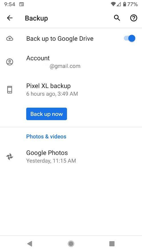 How to use Google One to back up your Android phone - The Verge