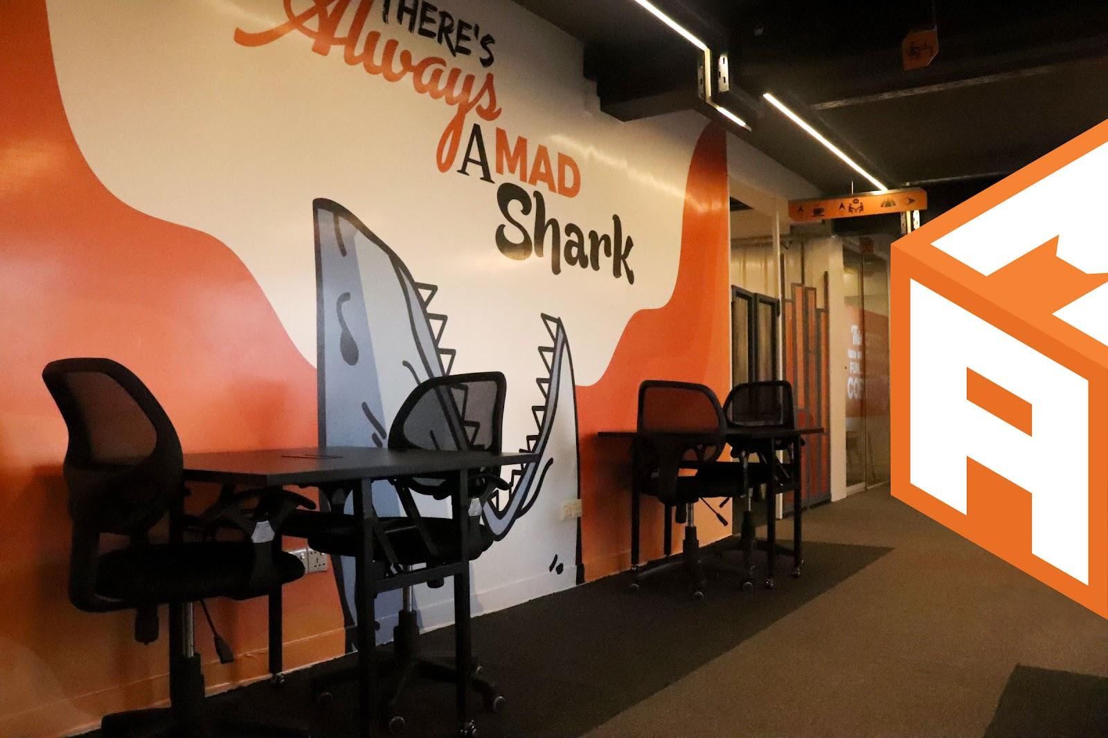 Madhub Coworking Space in Dhaka