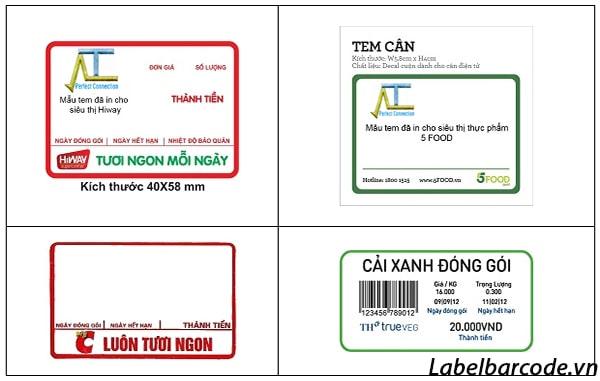 tem cân điện tử các loại với mẫu mã đa dạng