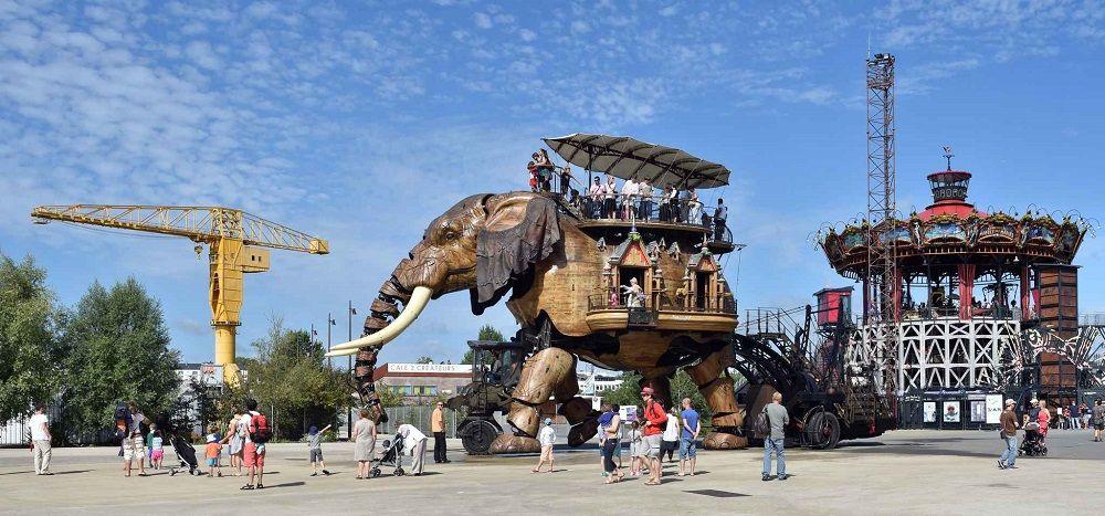 Nantes tourisme machines de l'île éléphant