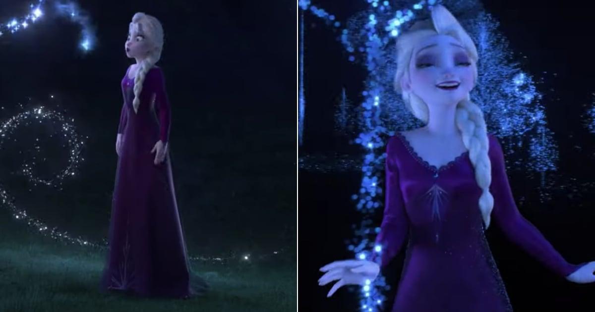 "Watch Elsa Sing Frozen 2's ""Into the Unknown"" Video | POPSUGAR Entertainment"