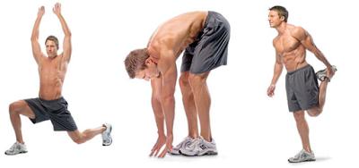 Khởi động tập gym