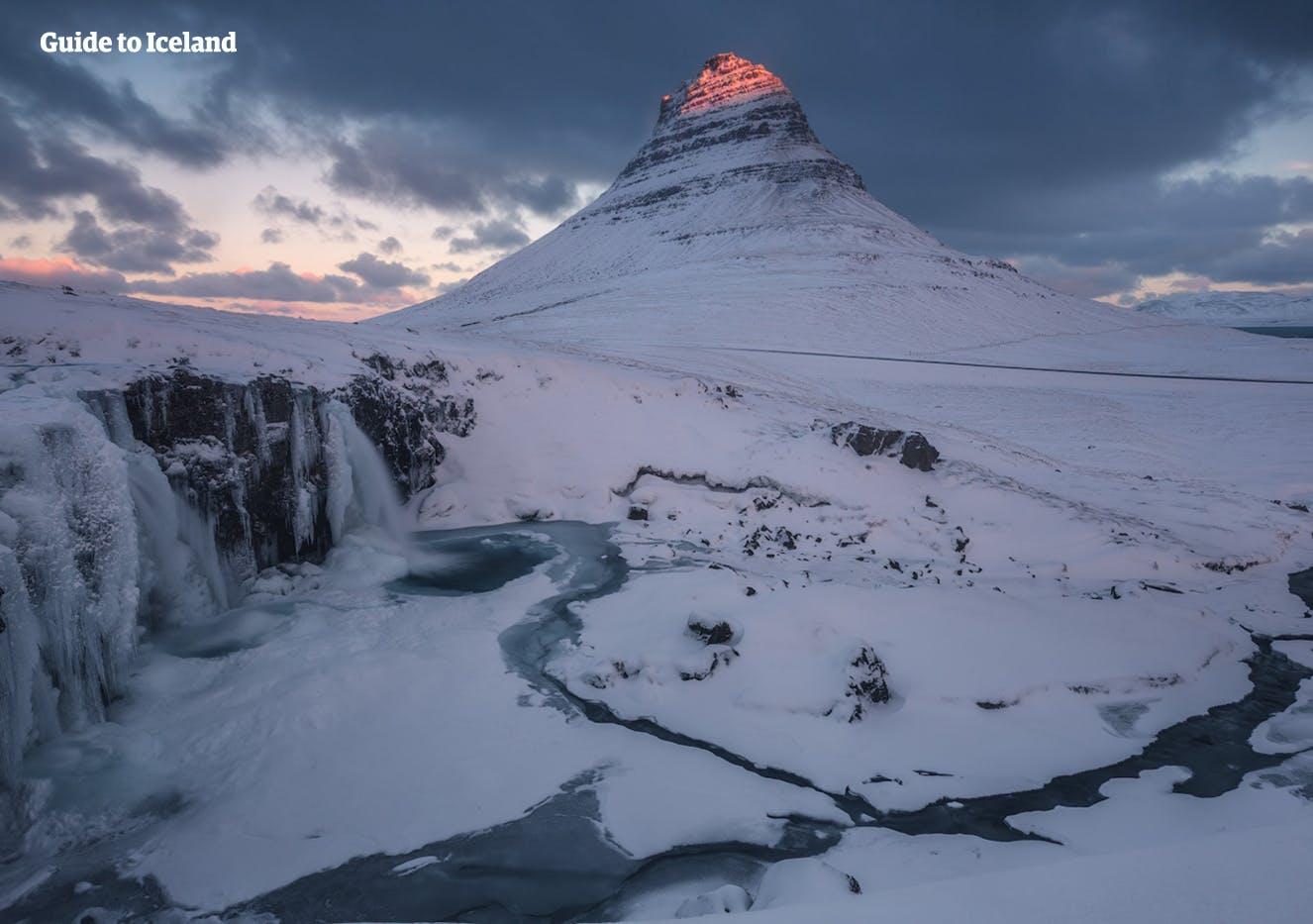 Mt. Kirkjufell of Snæfellsness Peninsula