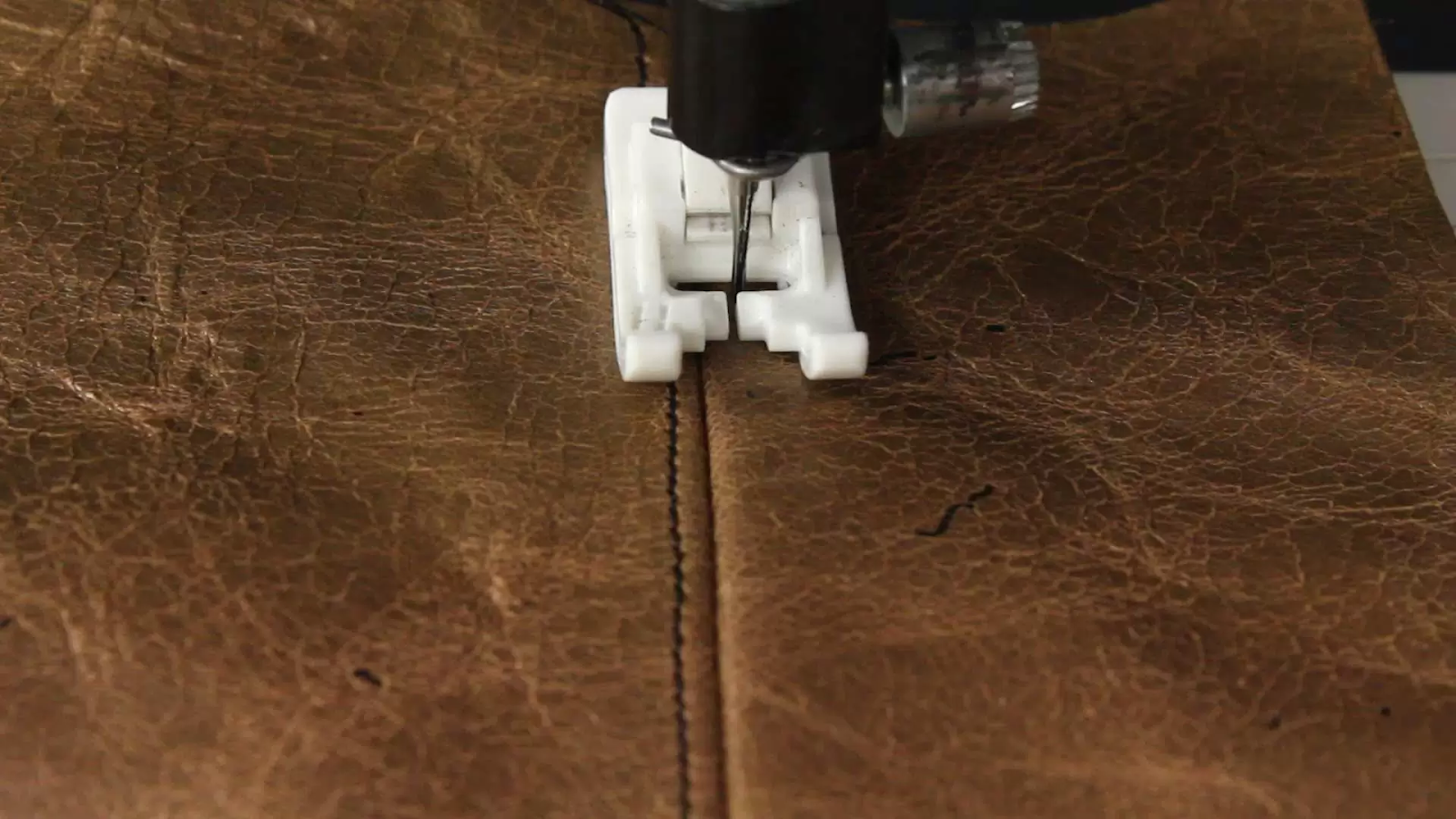 Leather Stitching with Sewing Machine