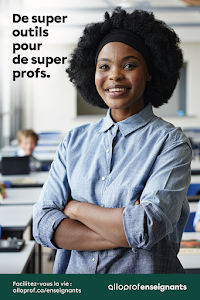 Affiche Alloprof Enseignants - Pour les enseignants - Maximum 5 affiches par commande