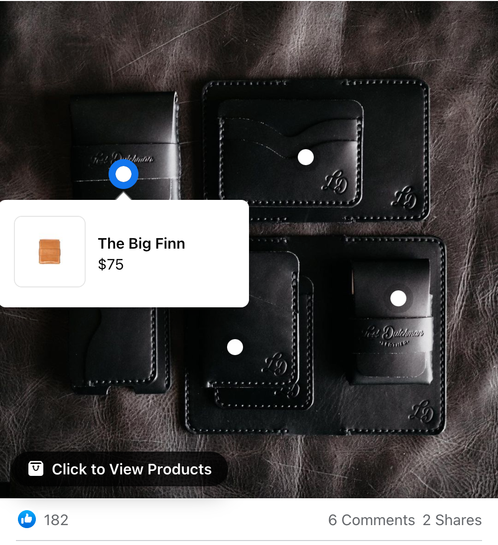 Lost Dutchman Wallet link to product listing