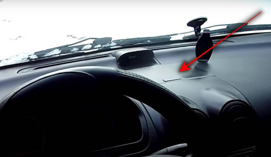 передняя панель в салоне Chevrolet Aveo
