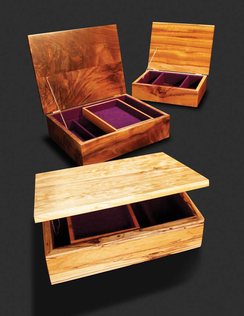 Jewelry Box: These will help you make some money.