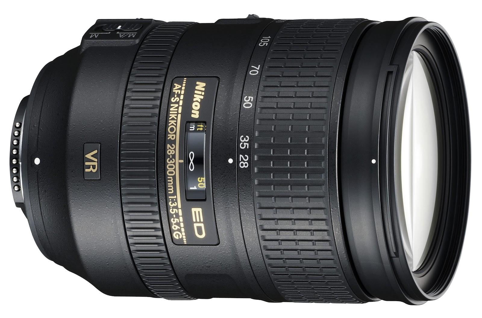 Nikon 28-300mm VR,