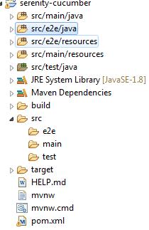Adding e2e folder