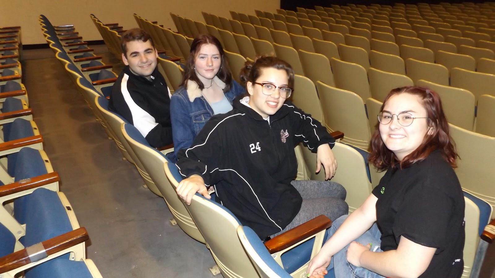 David Levine, Molly McNulty, Angela DiLeo and Katelyn Brennan
