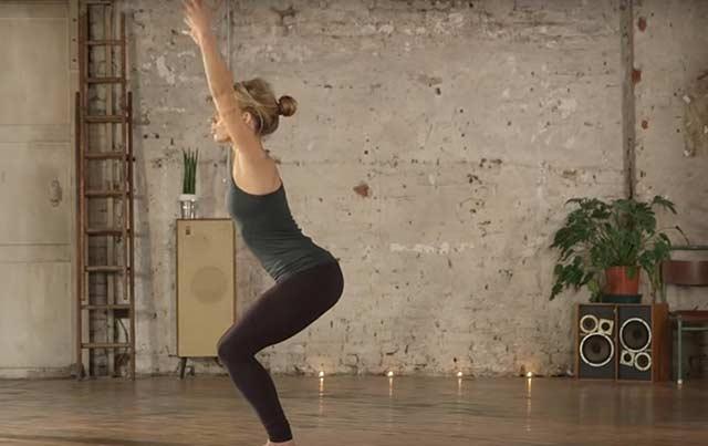 chair pose yoga