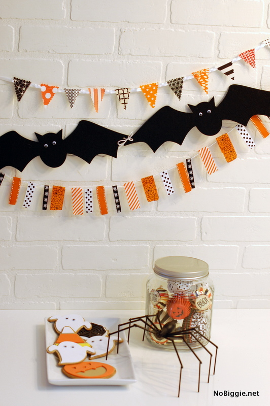 Halloween Garlands: These 30 DIY Halloween Decorations That Are Wickedly Creative will save you money and allow your creativity to flourish