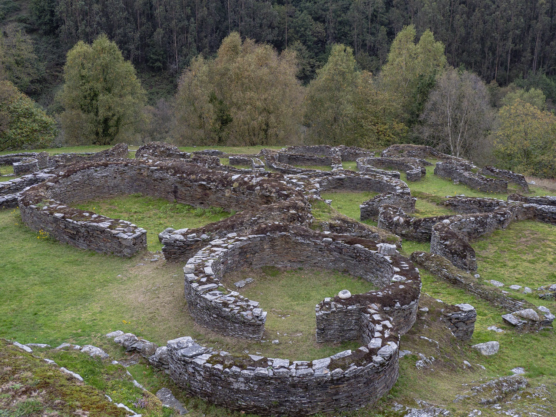 Castro de Coaña en Asturias