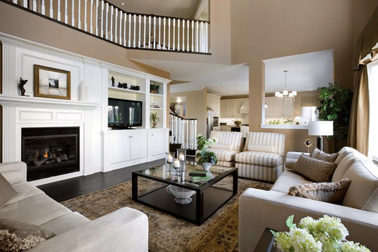 Hasil gambar untuk Desain Interior Rumah Amerika Klasik Gunakan Palet Warna yang Lembut