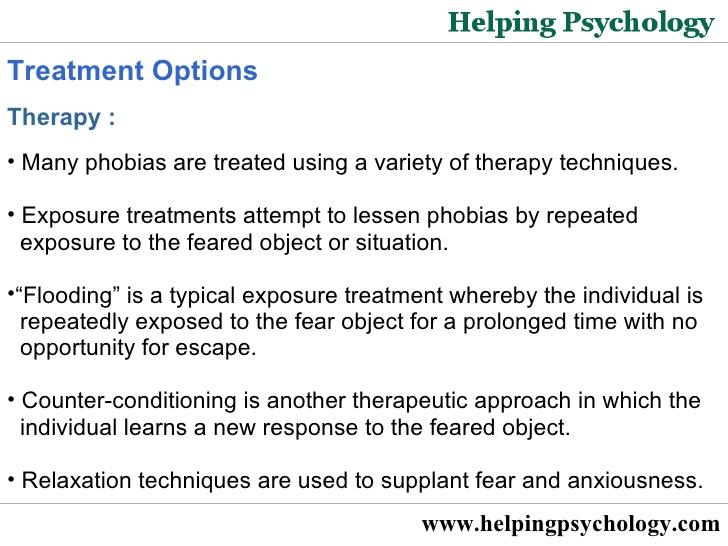 Common Psychological Phobias