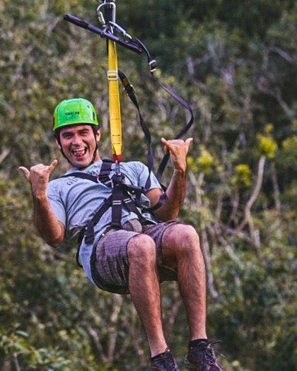 Zipline at Kualoa Ranch (#19 on 26 best things to do on Oahu)
