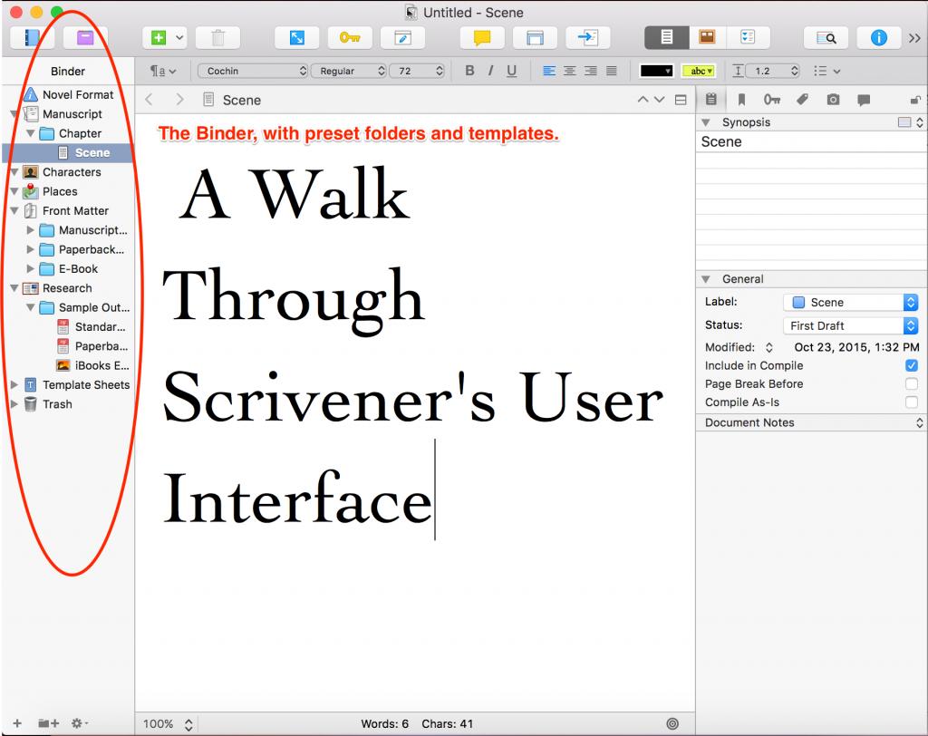 A-Walk-Through-Scriveners-User-Interface
