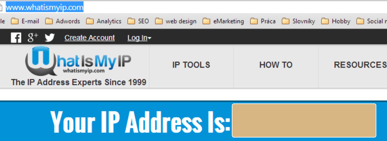 aká je vaša ip adresa?
