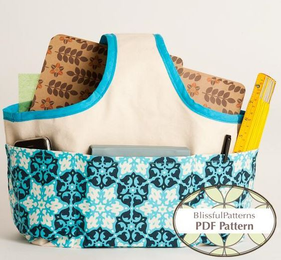 Fabric Basket for Tools, Accessories, Odds & Ends