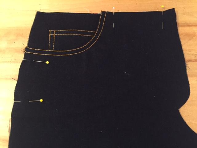 Ginger Jean Sew Along: Week 2 Construction