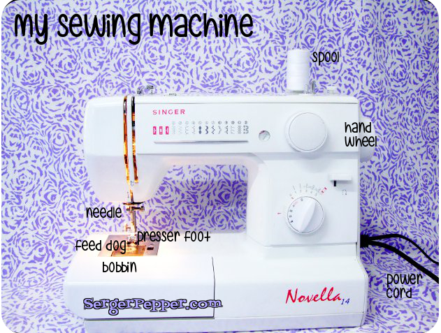 Serger Pepper Sew Basic Series Sewing Machine all