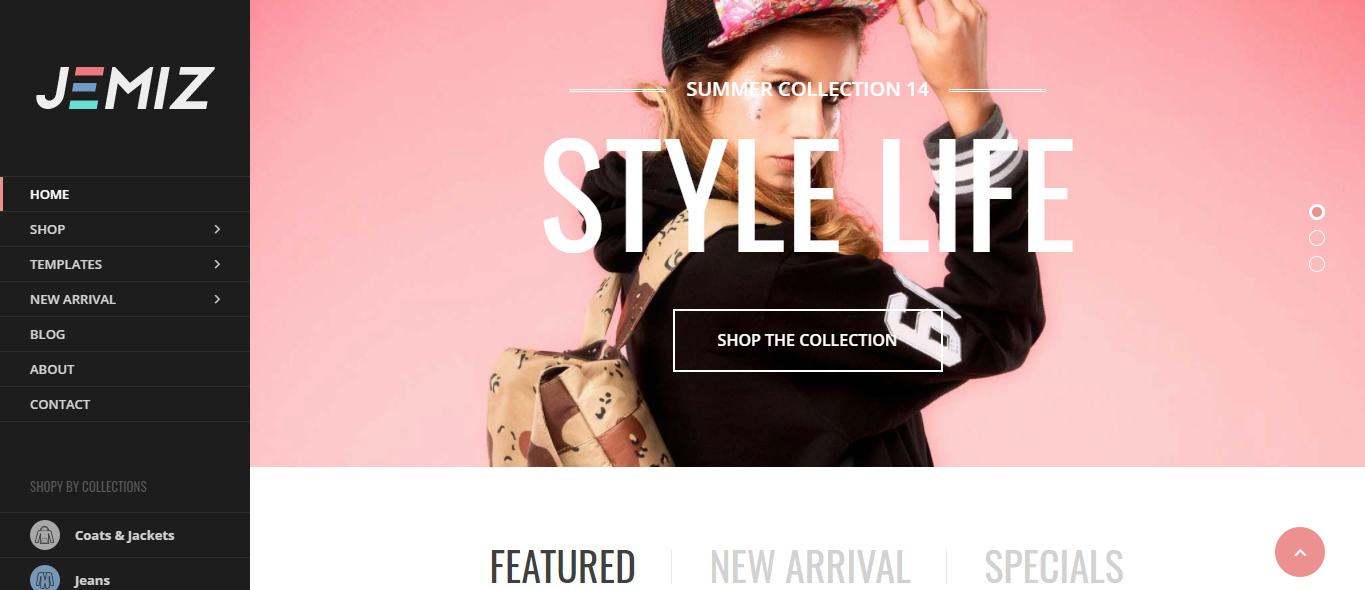 Jemiz - Handbags store shopify theme