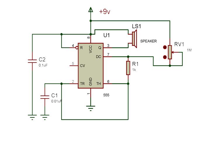 Tone Generator Circuit Diagram