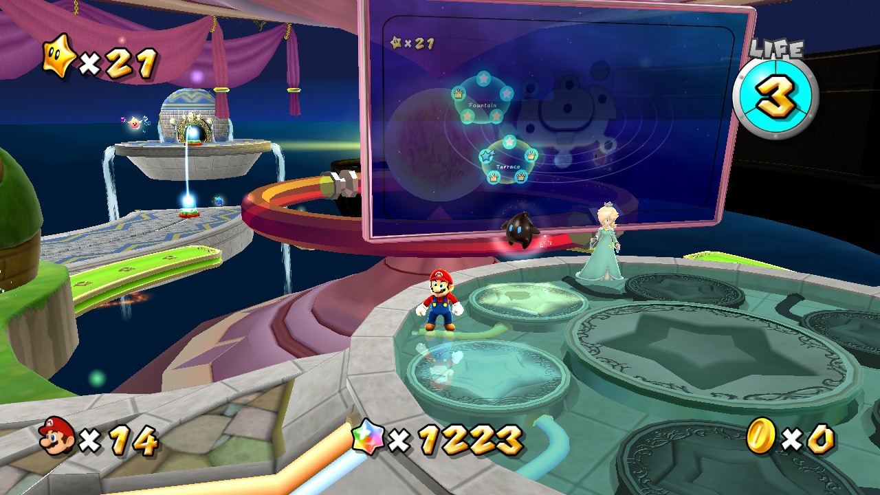 Super Mario Galaxy no Super Mario 3D All-Stars